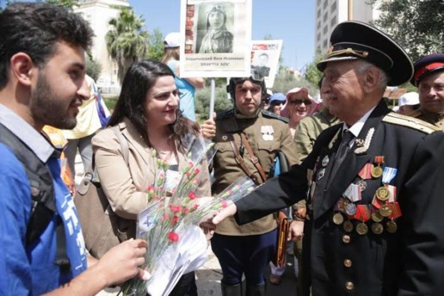 Израиль отмечает День Победы