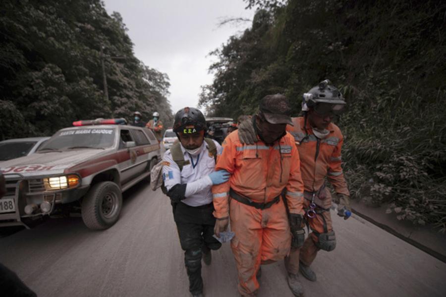 Извержение вулкана вГватемале забрало  жизни 109 человек
