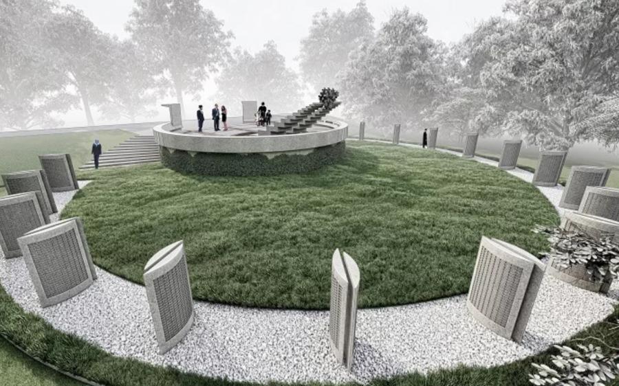 Проект Мемориального комплекса «Жертвам нацизма» в Днепре