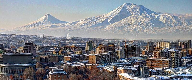 Yerevan.   Source: Serouj Ourishian/wikimedia.org