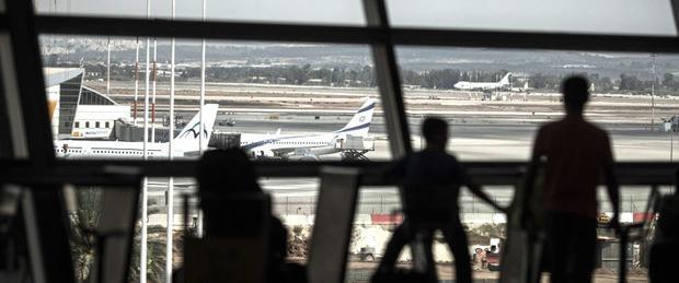 Ben Gurion airport.   Source: EPA/OLIVER WEIKEN