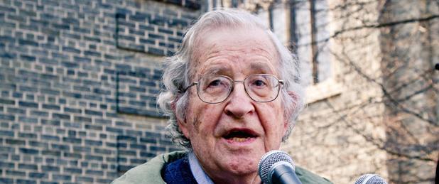 Avram Noam Chomsky.   Source: wikimedia.org