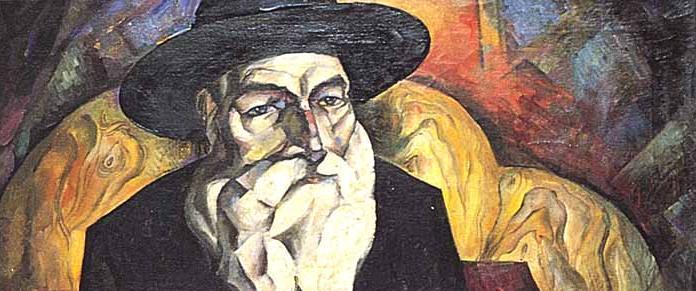 «Старый Еврей (портрет дяди Н. Альтмана)», (холст, масло), 1913 год