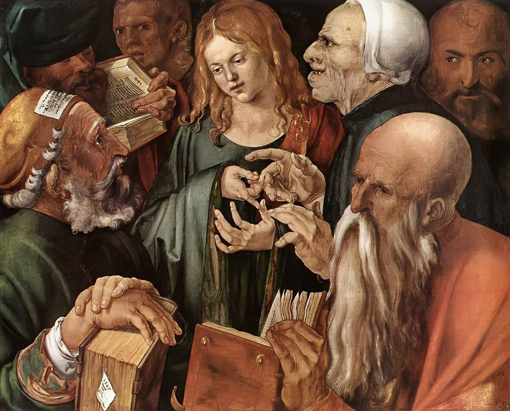 «Христос среди врачей», Альбрехт Дюрер (1503)