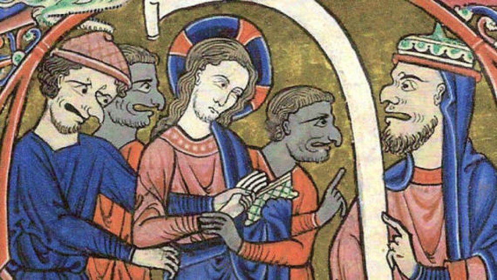Христа приводят к Каифе (1275)