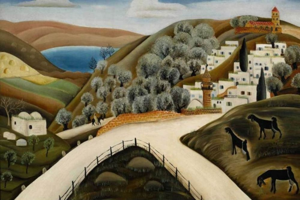 Реувен Рубин «Цфат в Галилее» (1927). Фото Sotheby