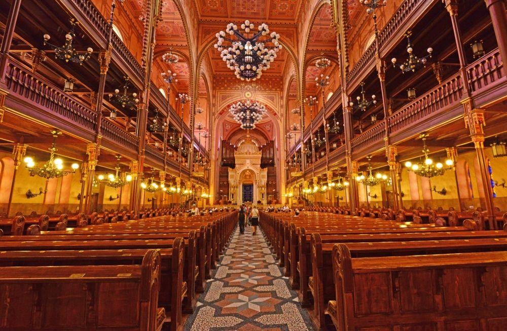 Синагога на улице Дохань, Будапешт. Фото Flickr Jan lyall